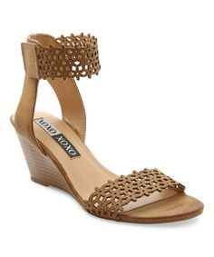 Another great find on #zulily! Tan Simmie Sandal #zulilyfinds