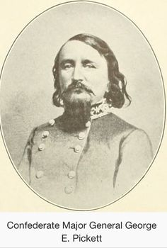 George E Pickett commander from Fort Bellingham and player in the Pig War. Commanded US forces at the southern end of SJ Island.