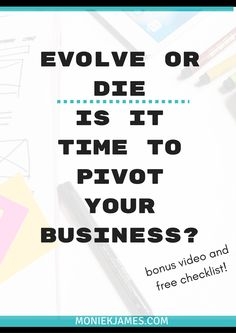 Is it time to pivot your business? If you miss this, you might be putting your business at risk. Small Business Development, Business Video, Did You Know, Marketing