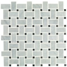 Basketweave Honed - Stone - Shop by tile type - Wall & Floor Tiles Bathroom Shop, Loft Bathroom, Bathroom Plans, Bathroom Flooring, Family Bathroom, Bathroom Ideas, Grey Marble Tile, Marble Wall, Basket Weave Tile