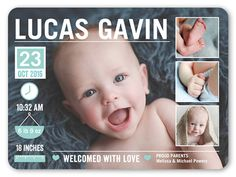 """One of my favorite ways to """"Make Way for Baby!"""" [Promotional Pin] - Loving my baby boy on this announcement!"""