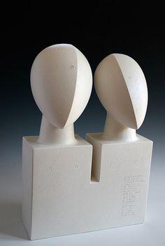 Ceramics by Sue Hanna at Studiopottery.co.uk - 2011. Couple.