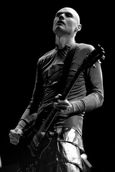 """Billy Corgan Backstage my sister hugged him and said ILUVU! His response was """"There is no love with me""""... and I just laughed.. (what a douche) I was much more intrigued by Peter Murphy <3"""