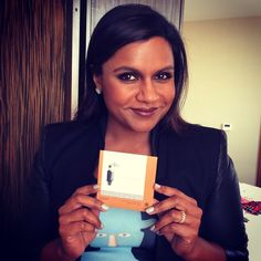 We're honored to keep Mindy Kaling extra gorgeous and petal fresh with Tatcha blotting papers