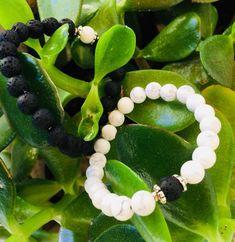 Lava Stone Bracelet by AvaiyaaEarth on Etsy