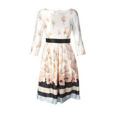 MAX MARA STUDIO Kleid aus schimmerndem Material - Vorderansicht