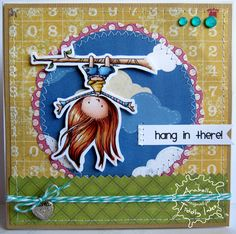 Hanging Around at Tiddly Inks Tiddly Inks, Cheap Stamps, Stamp Making, Diy Scrapbook, Digital Stamps, Cute Cards, Kids Playing, Christmas Ornaments, Holiday Decor