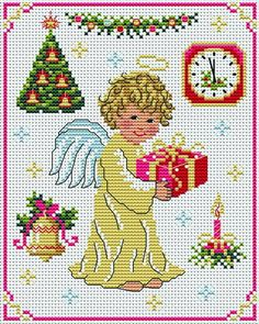 The Golden Angel Tons of FREE CROSS-STITCH PATTERNS at this site: http://cross-stitchers-club.com/?code_avantage=uucqid      Plus, if you click on this link, http://cross-stitchers-club.com/?code_avantage=uucqid , you'll automatically receive a gift when you subscribe. I use this site all the time; there are hundreds of all different types of patterns, and there are new patterns added everyday. It's really worth a look.