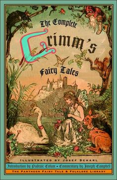 GRIMM'S FAIRY TALES illustrated by Josef Scharl (⭐⭐⭐⭐⭐) I remember my grandma reading me tales from this book. These are not watered down Disney tales. Loved every one of them.