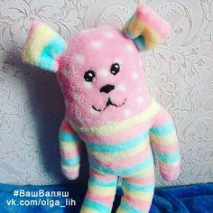 🌸Мягкий безопасный #монстрик для самых маленьких!🌸  #ВашВаляш #длядетей #игрушка #ручнаяработа #детскаяигрушка #текстильнаяигрушка #handmade