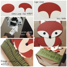 what does the fox say - see tutorial for bag too - gorgeous