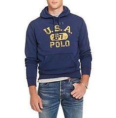 Polo Ralph Lauren® Men\u0027s Cotton-Blend-Fleece Hoodie