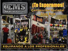 EMS México esta listo para su visita dentro de la Convención Nacional de Cruz Roja Mexicana. Además de las líneas de producto que manejamos, tendremos productos nuevos a demostrar  ¡Los Esperamos! ☺ #SoyEMS EMS Mexico | Equipando a los Profesionales