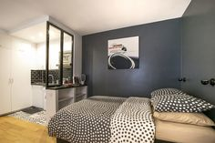 Location studio meublé Rue Lecuyer, Paris   Ref 12773