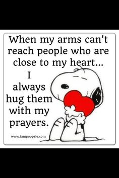 Snoopy prayers