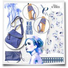 Blue Summer | Tsonga Footwear and Handbags | Handmade in South Africa