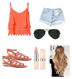 """Summer"" by ap-and-kim ❤ liked on Polyvore featuring interior, interiors, interior design, home, home decor, interior decorating, Glamorous, ALDO and Ray-Ban"