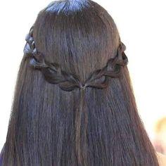 Braid style Half Up, Braid Styles, Braided Hairstyles, Bobby Pins, Braids, Hair Cuts, Hair Beauty, Hair Accessories, Long Hair Styles