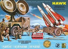 Revell Hawk Missile system SSP Renwal 1/32 scale plastic model kit Limited #7813 picclick.com