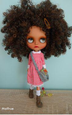 Vyhrazena Blythe panenka na zakázku podle Malfrue podle Malfrue na Etsy