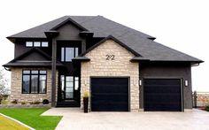 Craftsman versus Ranch Remodel Decisions black versus white windows