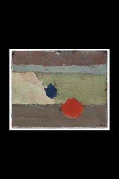 """Nicolas De Staël - """"Sans titre """", - Huile sur Toile - 33,02 x 40,97 cm (*)"""