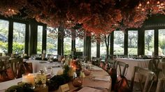 Autumn inspired event styling—transformed a Thai restaurant for a Jo Malone launch