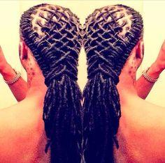 Astonishing Dreads Updo And The Social On Pinterest Short Hairstyles Gunalazisus