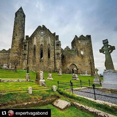 #Repost @expertvagabond with @repostapp To get featured tag your post with #talestreet The Rock of Cashel traditional home for the Kings of Munster.  #Ireland #LoveIreland #travel #TravelAwesome #travelogue #travelography #explore #exploretheworld #neverstopexploring #twitter