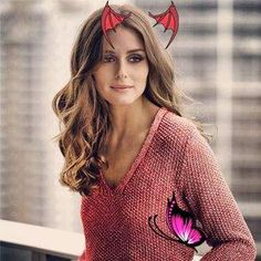 Olivia Palermo looks great rocking these voluminous curls! Book your own blow out at blowltd.com #hair #beauty #oliviapalermo<br> Voluminous Curls, Olivia Palermo, Looks Great, Hair Beauty, Pullover, Natural, Book, Sweaters, Fashion