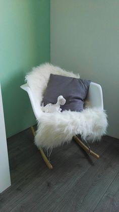 Rar schommelstoel babykamer baby boy