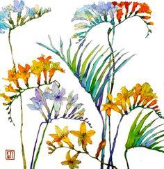 Gorgeous watercolour painting