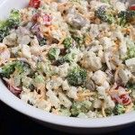 Recipe: Skinny Broccoli Salad