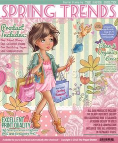 Spring Trends - Digital Stamp