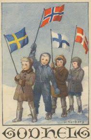Nordic children.