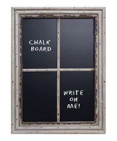 Window Pane Chalkboard #zulily #zulilyfinds