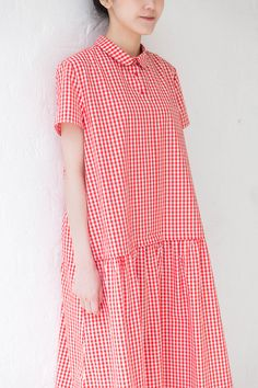 it would be better tight in the waist Simple Dresses, Cute Dresses, Summer Dresses, Casual Outfits, Fashion Outfits, Womens Fashion, Nouveau Look, Moda Casual, Linen Dresses