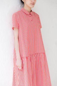 egg | apuntob collar dress