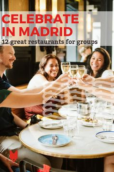 There are so many unique restaurants for groups in Madrid! Make your next party or event one to remember by celebrating in style at one of these fabulous spaces. Madrid Restaurants, Unique Restaurants, Madrid Travel, Spanish Culture, Travel Party, Places In Europe, Seville, Spain Travel, Hotels