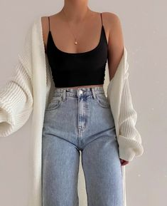 Fashion Inspiration And Trend Outfits For Casual Look - Fashion Inspiration And Trend Outfits For Casual Look You are in the right place about diy projects - Teen Fashion Outfits, Mode Outfits, Retro Outfits, Look Fashion, Fashion Tips, 70s Fashion, Modest Fashion, Korean Fashion, Basic Outfits