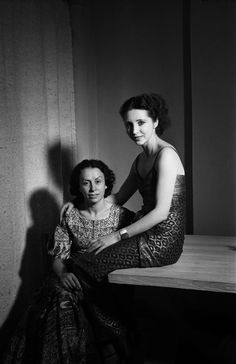 Emile Savitry. Helba Huara et Anaïs Nin, Paris 1936