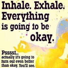 Worry less Exercise more  it always seems worse than it is#inhale #exhale #everythingisawesome #cardio #cardioworkout #girlswholift #girls #fitness #fitnessmotivation #mondays #motivation #mood