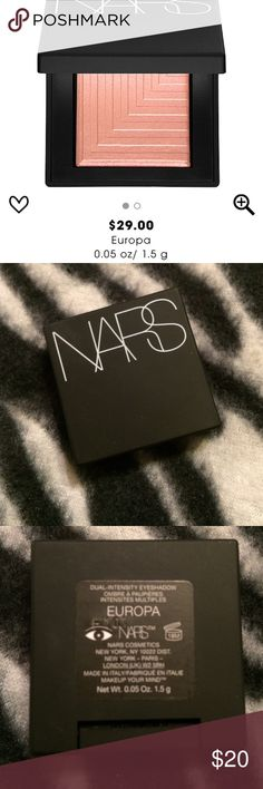 NARS ~ DUAL INTENSITY EYESHADOW ~ EUROPA ~ NEW NARS ~ DUAL INTENSITY EYESHADOW ~ COLOR IS EUROPA ~ NEW ~ NO BOX ~ 💯% AUTHENTIC ~ BUNDLE & SAVE AN ADDITIONAL 10% OFF THE ALREADY DISCOUNTED PRICE NARS Makeup Eyeshadow