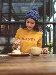 Honey Sweatshirt - Christmas Sweater f4586cba7f8e
