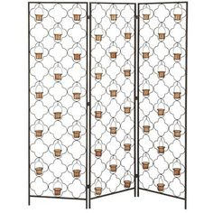Quatrefoil Floor Screen - Outdoor