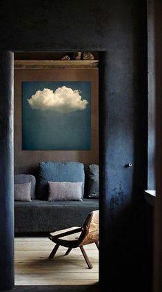 dark interior decor, mysterious and sexy