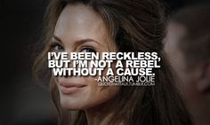 angelina quotes   There's something about death that is comforting. The thought ...