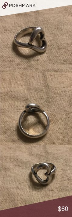 James Avery abounding love ring Sz 6 Sterling. Retiring design. Size 6 normal wear. James Avery box included. Retail $85 James Avery Jewelry Rings