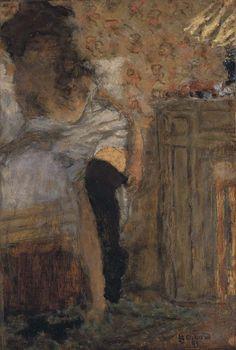 Femme enfilant ses bas - 1895 Pierre Bonnard