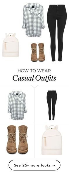 """Casual"" by libby-cox-1 on Polyvore featuring Topshop, Want Les Essentiels de la Vie and Rick Owens"